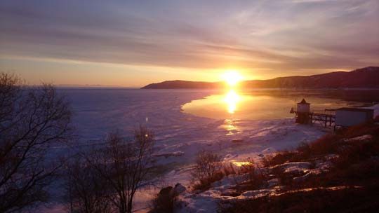 The world's deepest lake and Siberian sunsets